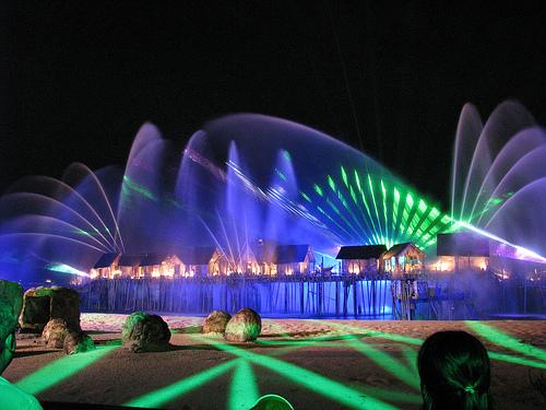 Khúc nhạc biển xanh Singapore