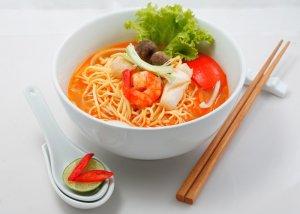 Mì hải sản Thái Lan