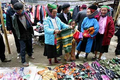 Chợ Sà Phìn- Phiên chợ nổi tiếng ở Hà Giang