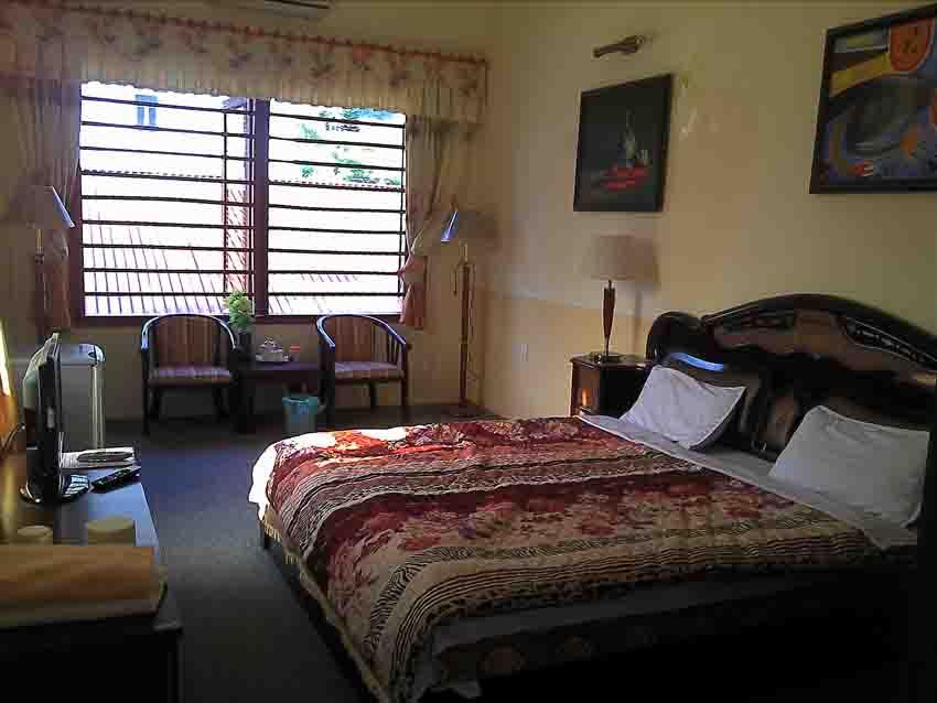 Phòng khách sạn tiện nghi, rộng và thoáng mát